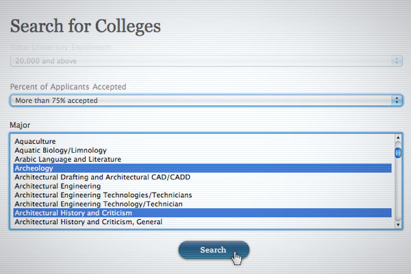 Search for Colleges